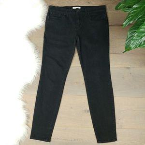 "Madewell Skinny Skinny Black Jeans 9"" Rise Size 29"
